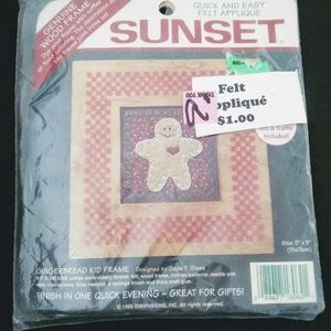 Sunset Christmas holiday cross stitch Kit